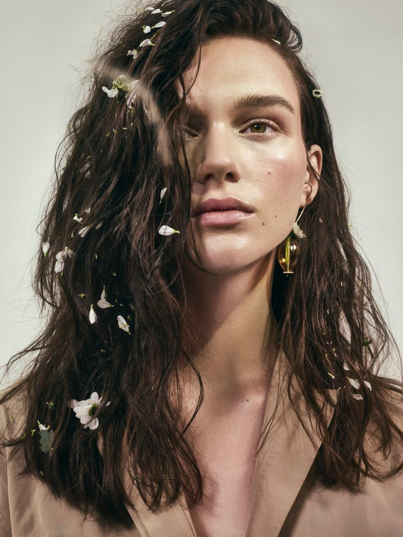 Natalie Ogg Is a Nature Girl for Vogue Arabia