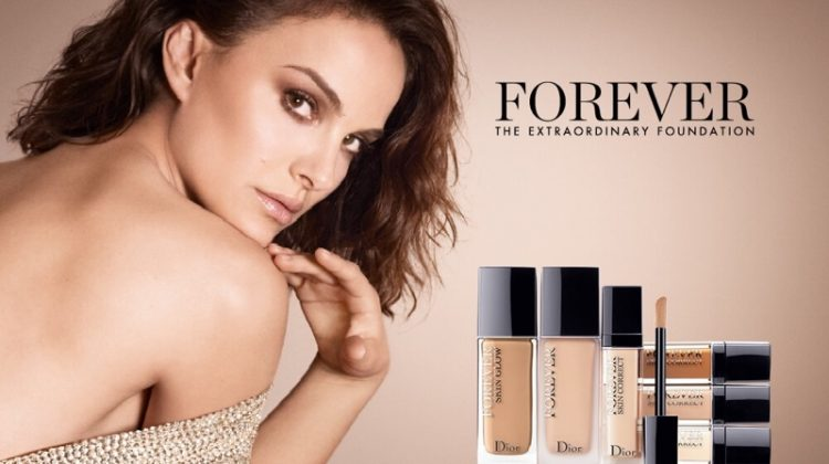 Natalie Portman stars in Dior Forever 2020 foundation campaign