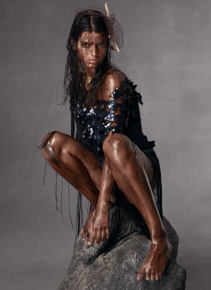 Aivita & Paula Wear Seaworthy Styles for More or Less Magazine