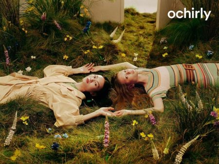 He Cong & Sara Grace Enchant in Ochirly Spring 2020 Campaign