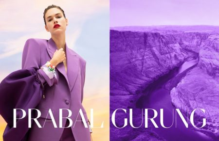 Vanessa Moody stars in Prabal Gurung spring-summer 2020 campaign