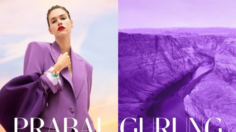 Vanessa Moody stars in Prabal Gurung spring-summer 2020 campaign
