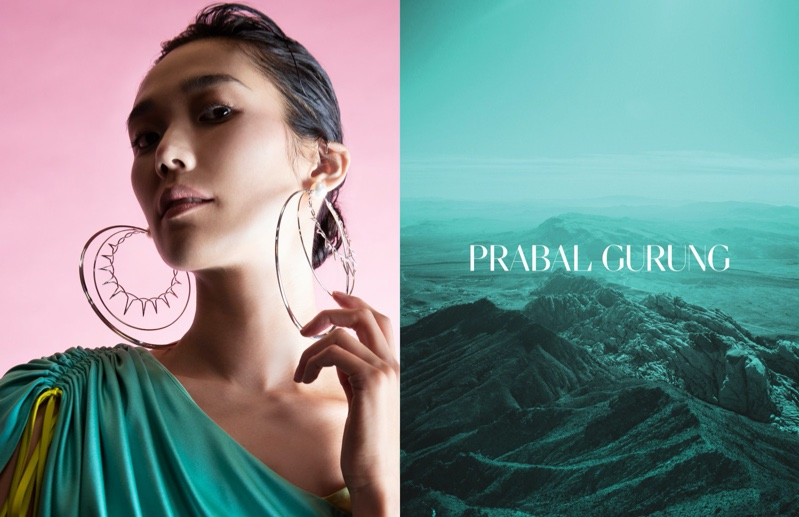 Tao Okamoto appear in Prabal Gurung spring-summer 2020 campaign