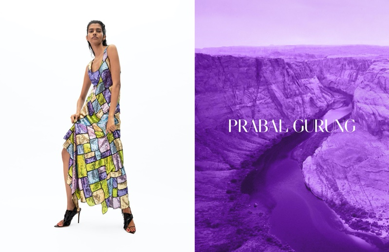 Pooja Mor fronts Prabal Gurung spring-summer 2020 campaign