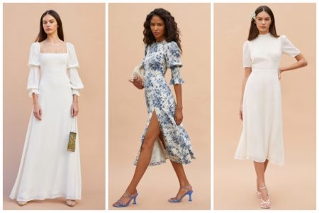 Reformation spring 2021 wedding dresses