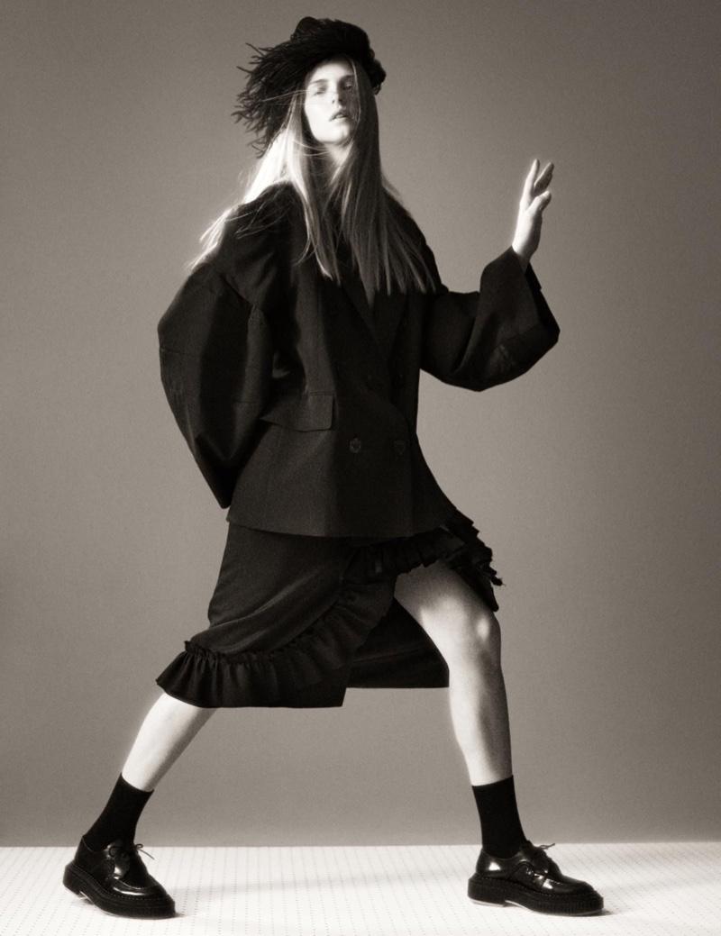 Felice, Abby & Hannah Model Dramatic Looks for WSJ. Magazine
