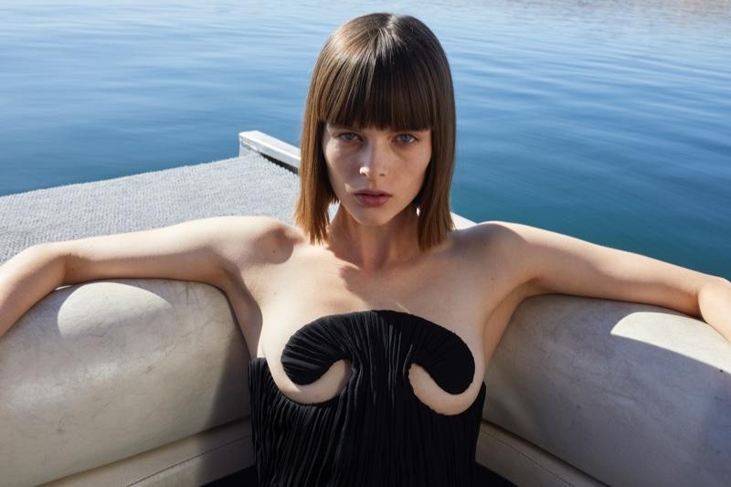 Aylah Peterson stars in Saint Laurent summer 2020 campaign
