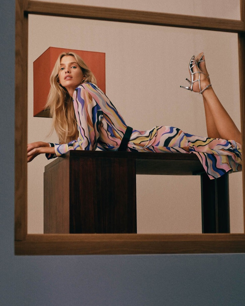 Stella Maxwell sports prints for Marella spring-summer 2020 campaign