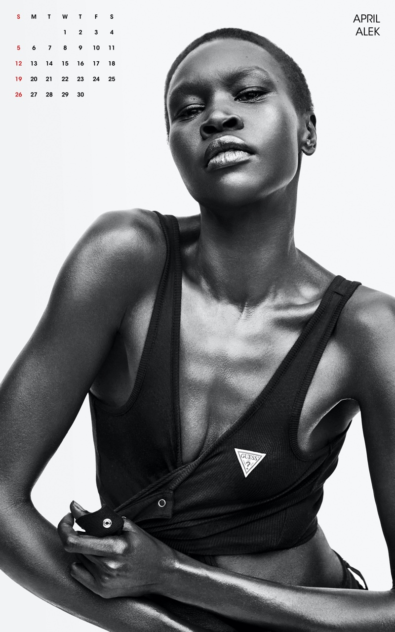 Alek Wek. Photo: Zoey Grossman for V Magazine