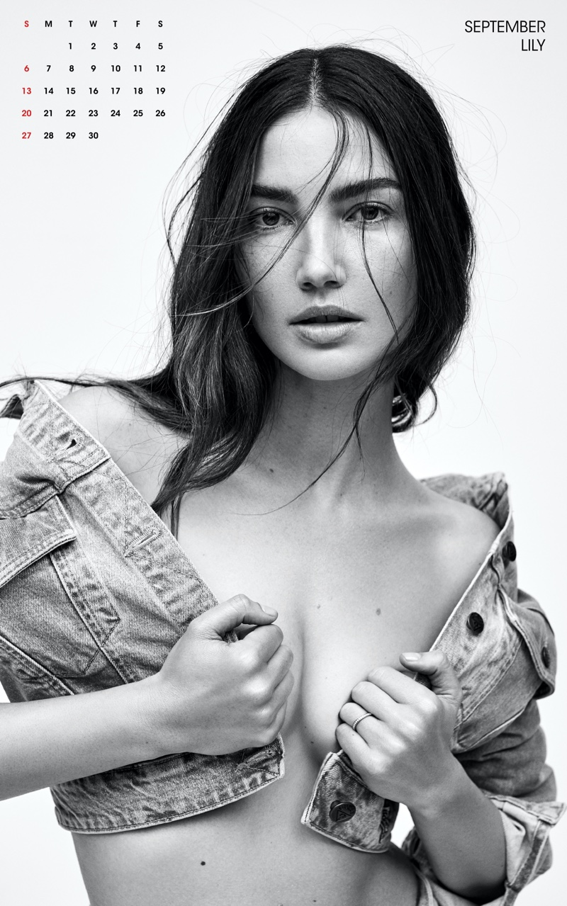 Lily Aldridge for September Photo: Zoey Grossman for V Magazine