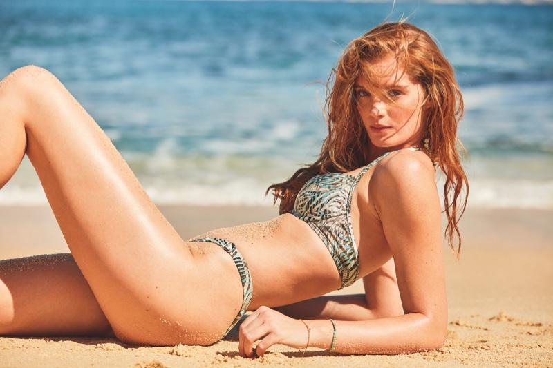 Alexina Graham appears in Victoria's Secret Swim Spring 2020 campaign