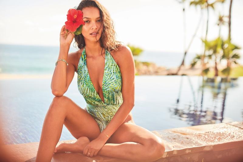 Lais Ribeiro fronts Victoria's Secret Swim Spring 2020 campaign