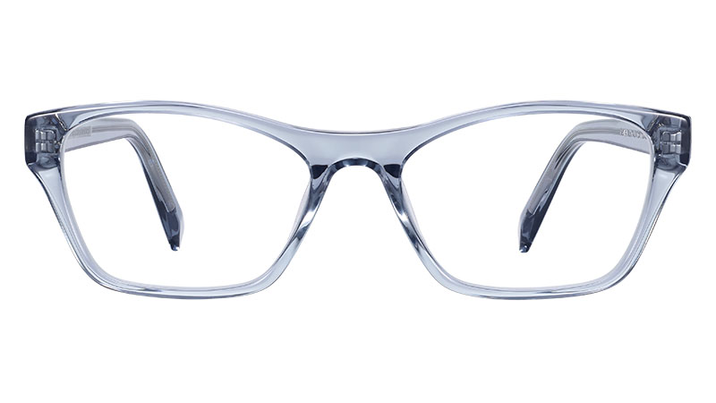 Warby Parker Ashe Glasses in Pacific Crystal $95
