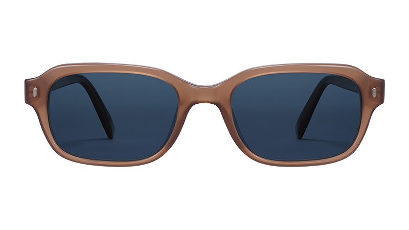 Warby Parker Brewer Sunglasses in Saddle $95