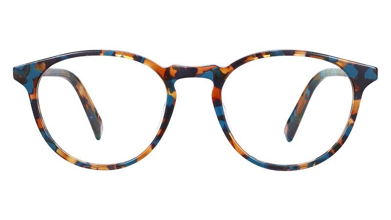 Warby Parker Butler Glasses in Teal Tortoise $95