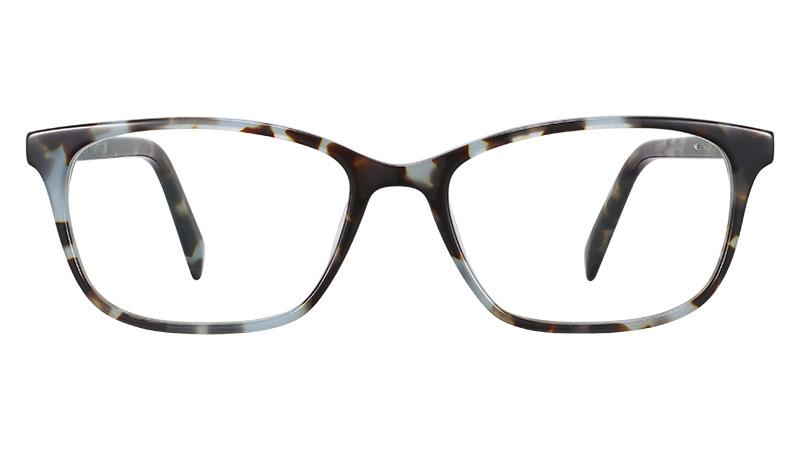 Warby Parker Nelle Glasses in Sea Smoke Tortoise $95