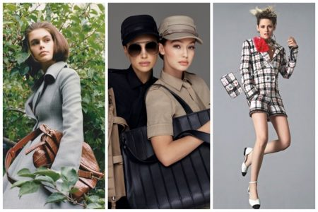 Week in Review | Kaia Gerber in Loewe, Max Mara Spring Ads, Kristen Stewart for Chanel + More