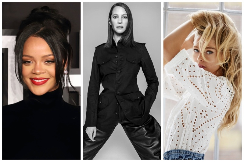Week in Review   Christy Turlington's New Cover, Doutzen Kroes for Only, Rihanna x Savage + More