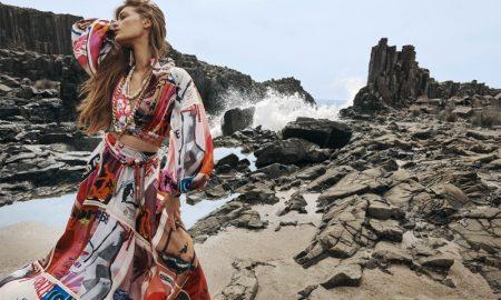 Faretta Hits the Beach for Zimmermann Spring 2020 Campaign