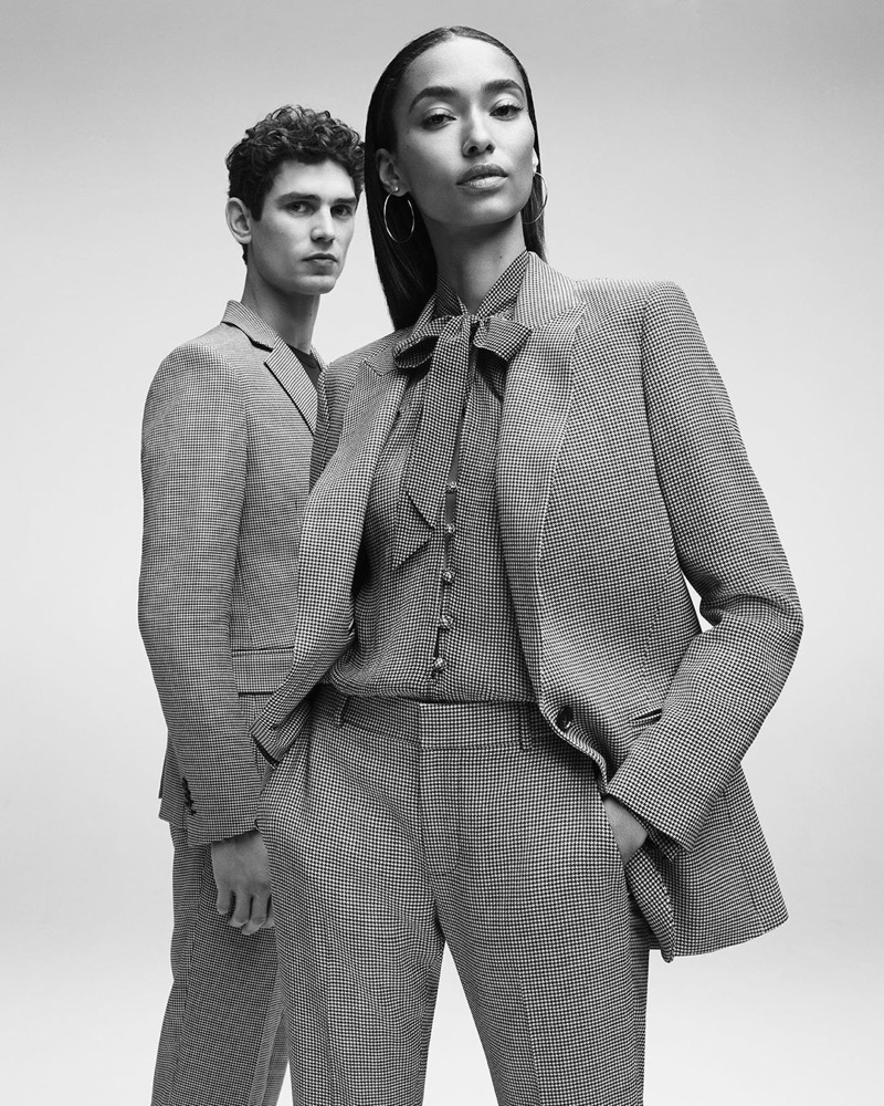 Anais Mali and Arthur Gosse suit up in 7 For All Mankind spring-summer 2020 campaign