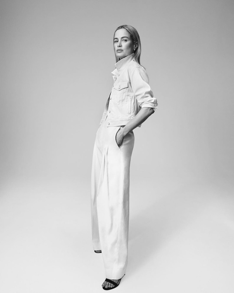 Carolyn Murphy stars in 7 For All Mankind spring-summer 2020 campaign