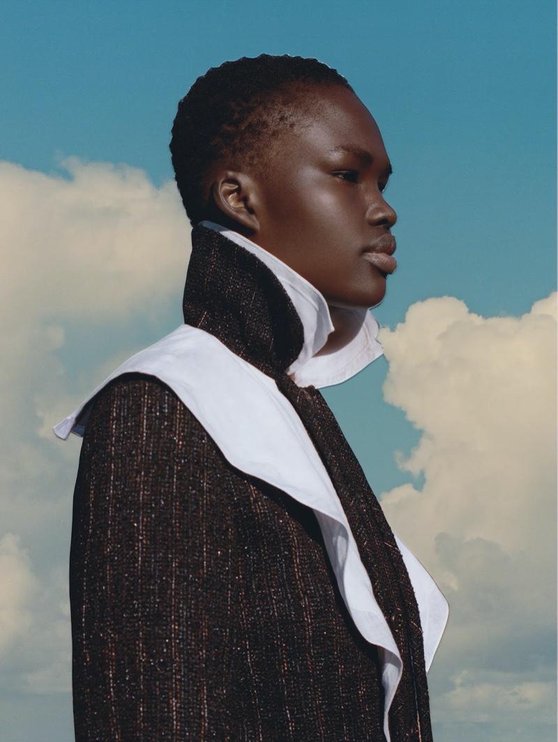 Abby Champion & Adual Akol Get Surreal for Vogue Ukraine