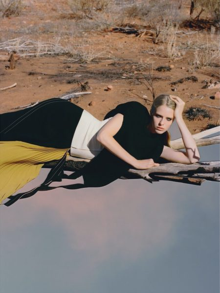 Abby Champion & Adual Akol Get Surreal for Vogue Ukraine