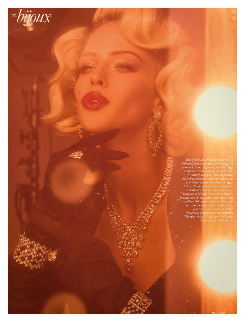 Abby Champion is Dripping in Diamonds for Vogue Paris
