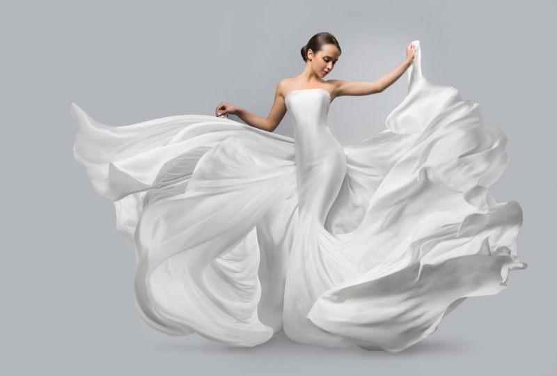 Airy Bridal Dress Wedding Fashion