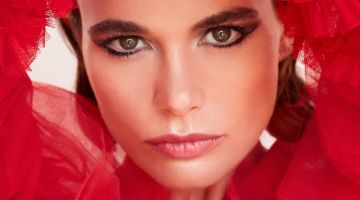 Ana Ponce Models Glam Beauty Looks for ELLE Bulgaria