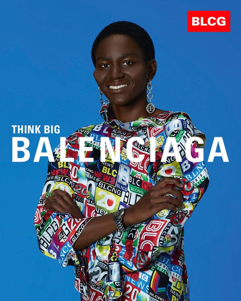 Laurence Chaperon photographs Balenciaga spring-summer 2020 campaign