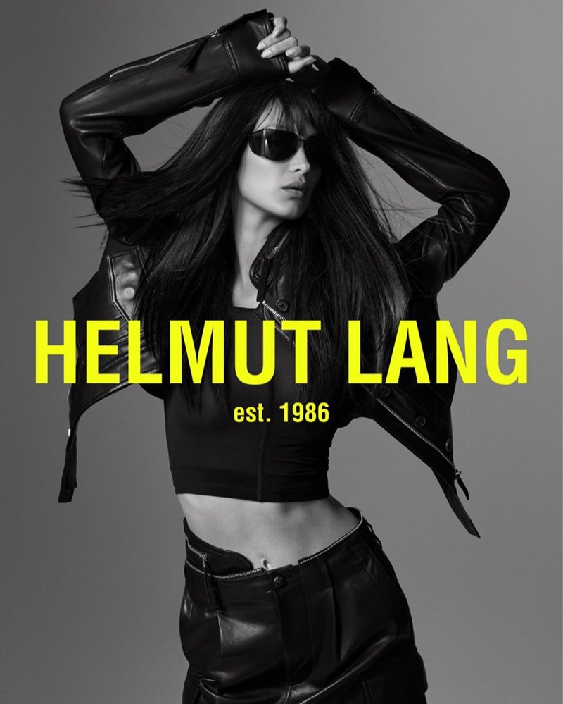 Bella Hadid stars in Helmut Lang spring-summer 2020 campaign
