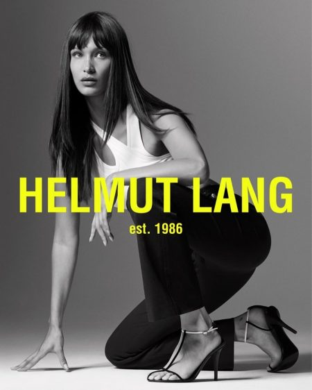 Helmut Lang taps Bella Hadid for spring-summer 2020 campaign
