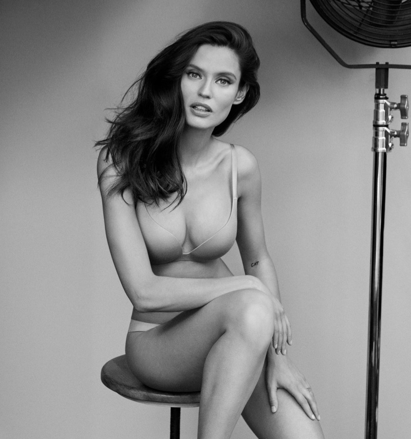 Bianca Balti appears in Yamamay #BasicallySexy campaign