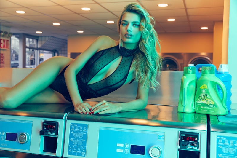 Bregje Heinen heats up Frederick's of Hollywood spring 2020 campaign