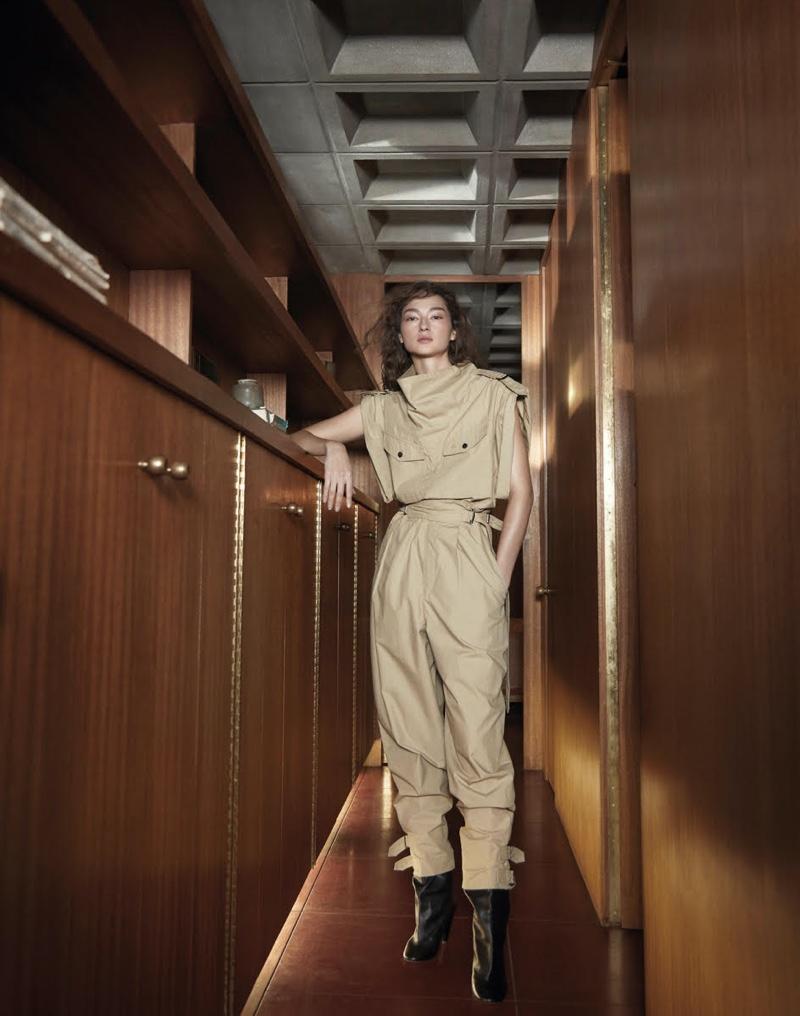 Bruna & Liz Pose in Elegant Fashions for Vogue Taiwan