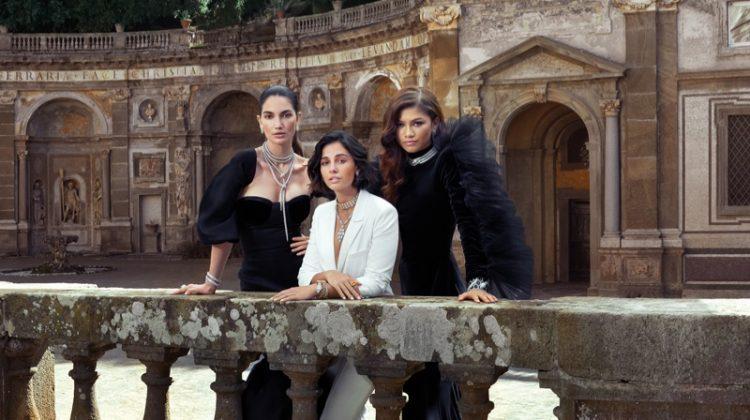 Zendaya, Lily & Naomi Shine in Bulgari 'Mai Troppo' Campaign