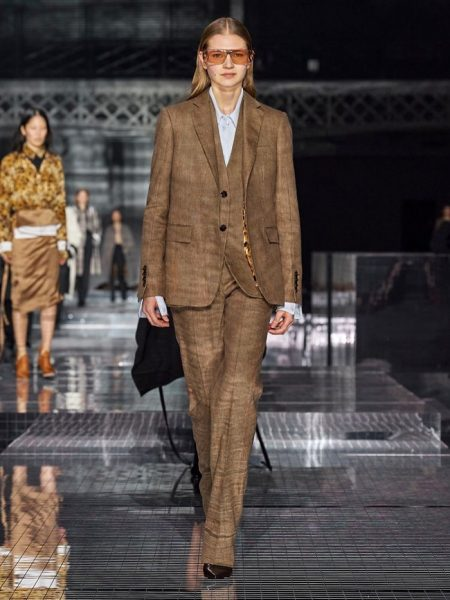 Burberry Takes a Journey With Fall 2020 Show