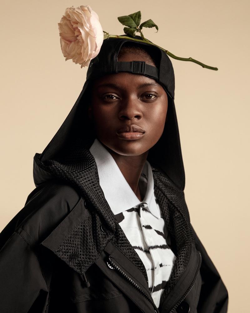 Tosin Olajire stars in Burberry spring-summer 2020 campaign