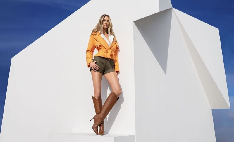 Model Candice Swanepoel fronts NetWork spring-summer 2020 campaign
