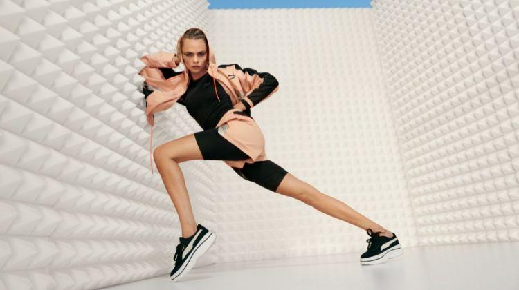 PUMA taps Cara Delevingne for Deva sneaker campaign