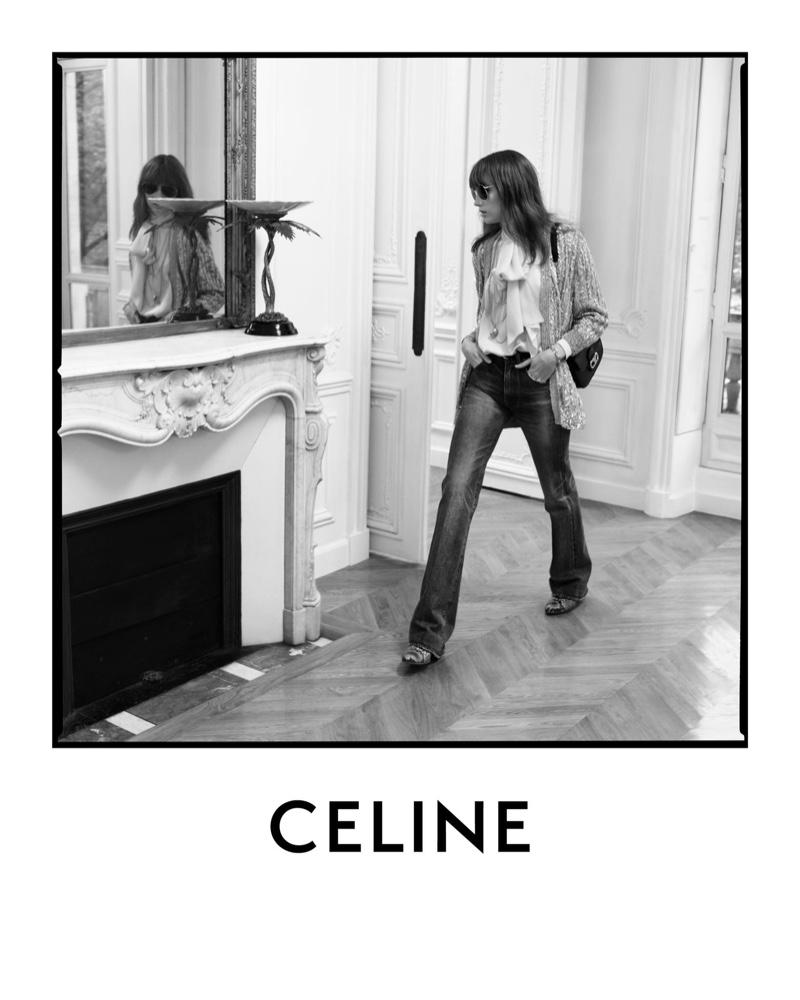 Hedi Slimane photographs Celine spring-summer 22020 campaign