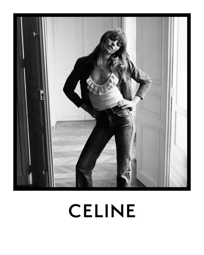 Fran Summers stars in Celine spring-summer 2020 campaign