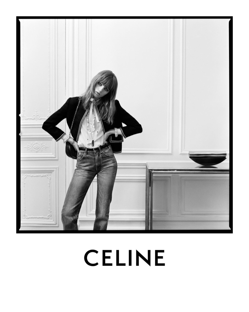 An image from Celine's spring 2020 advertising campaign