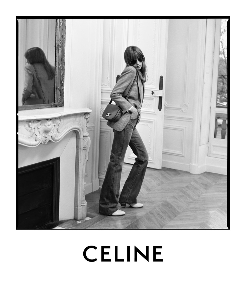 Model Fran Summers fronts Celine spring-summer 2020 campaign