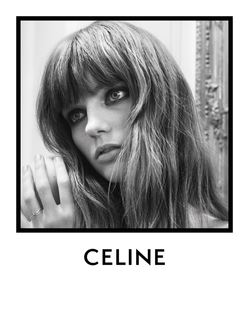 Fran Summers gets her closeup in Celine spring-summer 2020 campaign