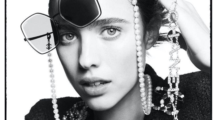 Margaret Qualley stars in Chanel Eyewear spring-summer 2020 campaign