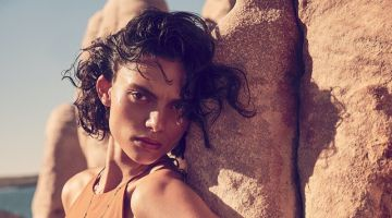 Charlee Fraser Models Romantic Dresses for Vogue Australia