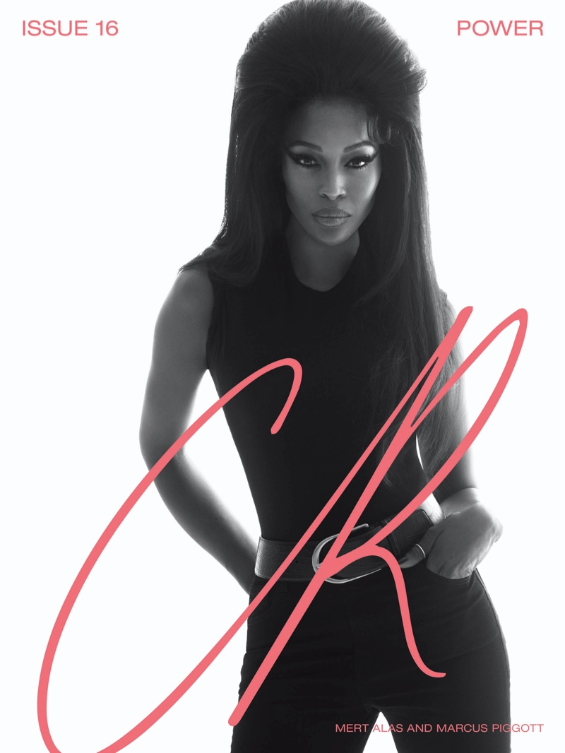 Naomi Campbell on CR Fashion Book #16 Cover