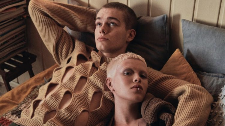 Wilma & Filip Wear His & Her Style for Dolce Vita Magazine